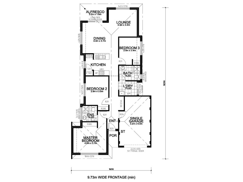 House and land packages perth wa first home buyers perth wa for Home designs 12m frontage